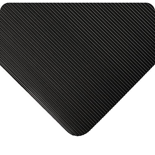 - Wearwell 381.18x4x10BK Standard Corrugated Vinyl Runner Mat, 10' Length x 4' Width x 1/8