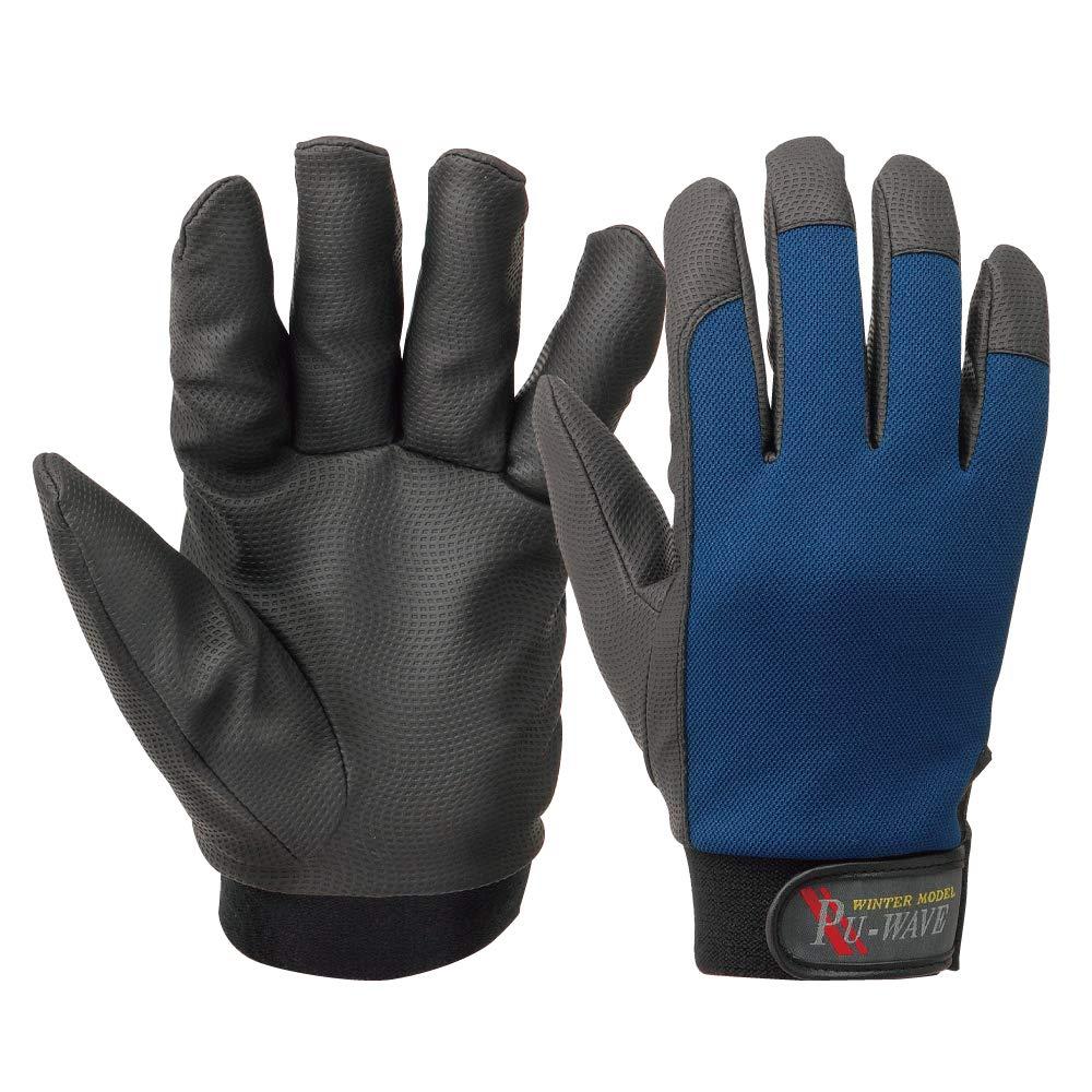 おたふく手袋『防寒手袋 PU-WAVE』