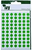 Hiedra 8mm Verde Autoadhesivo Redondo Punto Punto Etiquetas Adhesivas Círculo Pegatinas (490 Pegatinas)