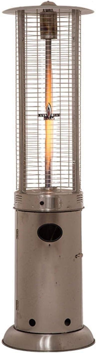 ガードレール Outdoor Heating Stainless Steel Patio Heater Portable Outdoor Heat Lamp Cylindrical Gas Heater Adjustable Outdoor Heaters Suitable for Indoors heaters for Patio