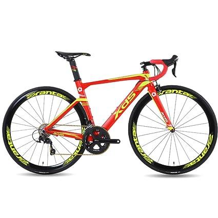 POTHUNTER Bicicleta De Carretera XDS X6 Cuadro De Aleación De Aluminio Bicicleta De Montaña 22 Velocidad