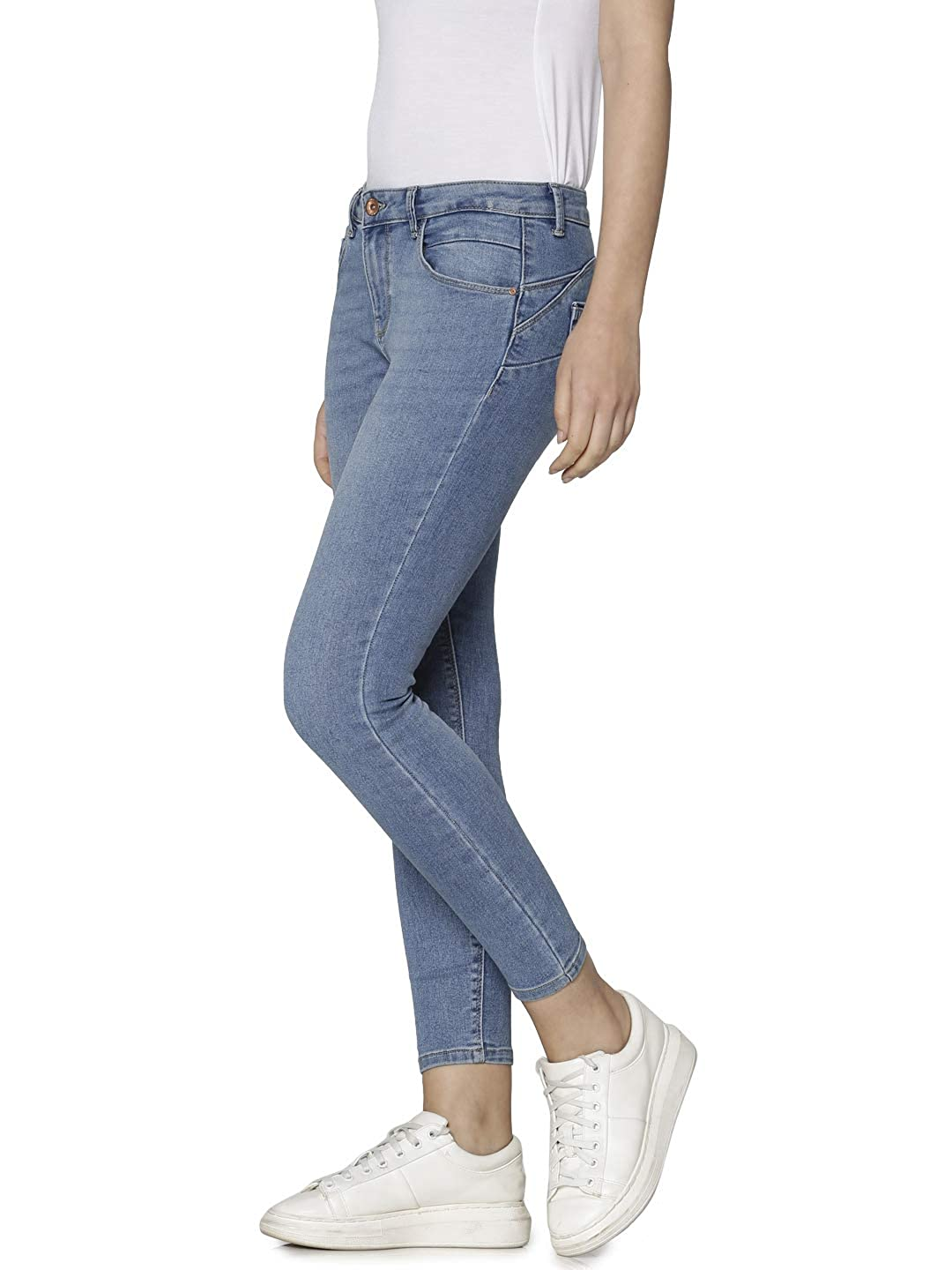 Only Jeans Woman Daisy Reg Push Up Ankle 15169093