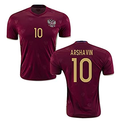 huge discount 17735 961b9 2016 2017 Russia 10 Andrei Arshavin Home Football Jersey In ...