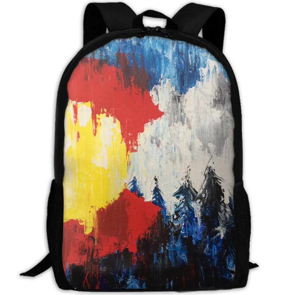 3f029c387ba5 ZQBAAD Colorado Flag Luxury Print Men And Women's Travel Knapsack ...