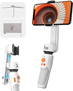 ZHIYUN Smooth XS Gimbal for iPhone 12/11/XS/X, Samsung Android Smartphones [Slide Design, Tripod & Case] 10