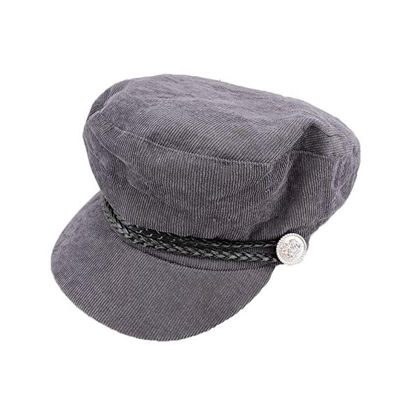 Amazon.com: 1 Pcs Brand Fashion Autumn Winter Vintage Style Newsboy Hats for Women Creative Military Hat: Kitchen & Dining