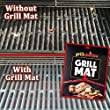 Grillaholics Grill Mat - Set of 2 Non Stick BBQ Grill Mats - Heavy Duty, Reusable, and Easy to Clean - Extended Warranty