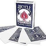 Cartes à jouer Magic visage retour vide bleu à vélo BLUE Back BLANK Face Magic Playing Cards by Bicycle