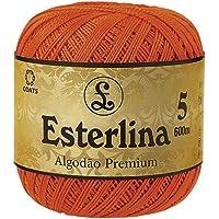 Linha para crochê premium Esterlina 5