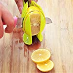 Best Utensils Tomato Slicer Lemon Cutter Multipurpose Handheld Round Fruit Tongs ABS Plastic Onion Holder Easy Slicing Fruits & Vegetable Tools Kitchen Cutting Aid Gadgets Tool 7 MADE IN CHINA: Unique design makes slicing fruits and vegetables more quickly and easily MULTI-PURPOSE: Conveniently designed slicing aid, perfect tool for any task in the kitchen, ideal for tomatoes, onions, lemon, citrus fruit & more! DURABLE & SAFETY: Made of 100% food grade Material, eco-friendly, durable in use. Clamp design, multifunctional, also couble be used as food tongs.