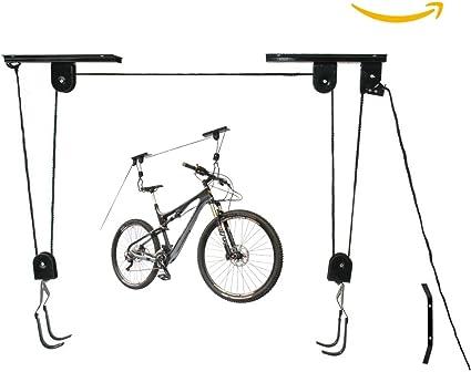 Colgador techo bicicleta, poleas para bici LEVEL25: Amazon.es: Bricolaje y herramientas