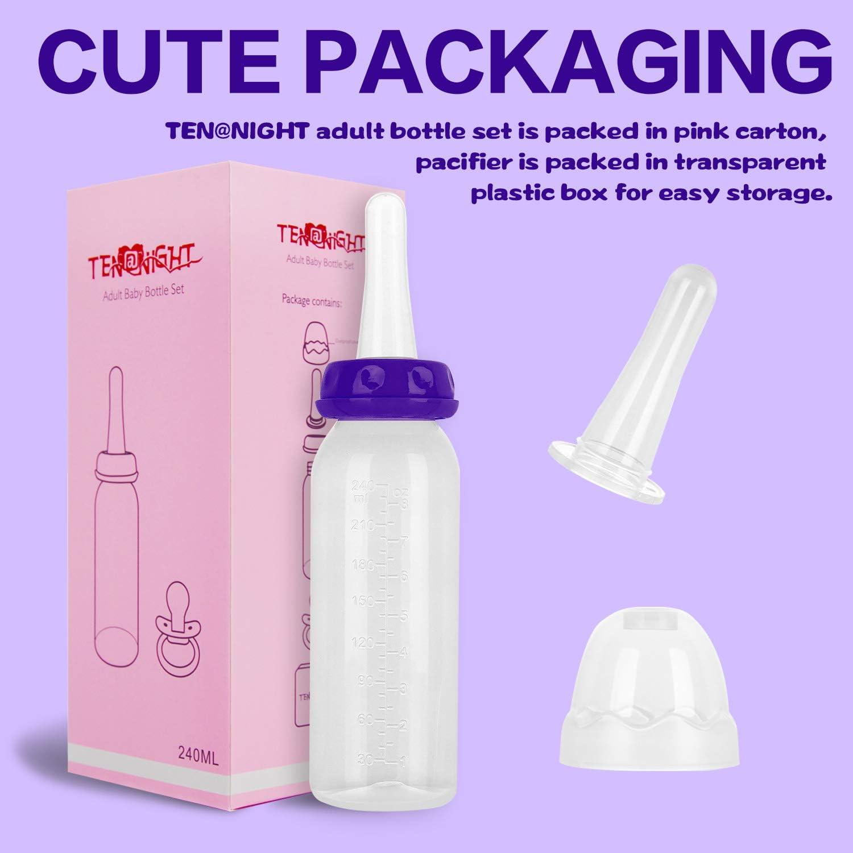 TEN@NIGHT Bottle with Pacifier Set Cute
