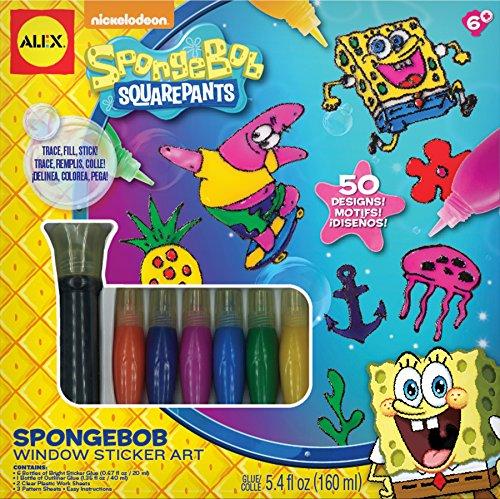 SpongeBob Window Sticker Art Craft Kit ()