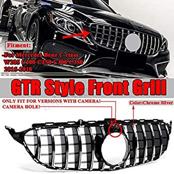 Amazon.com: Usudu 256-250 GT R Style Grille W205 AMG Look ...