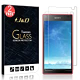 J&D Compatible for 2-Pack Xperia Z5 Compact Glass