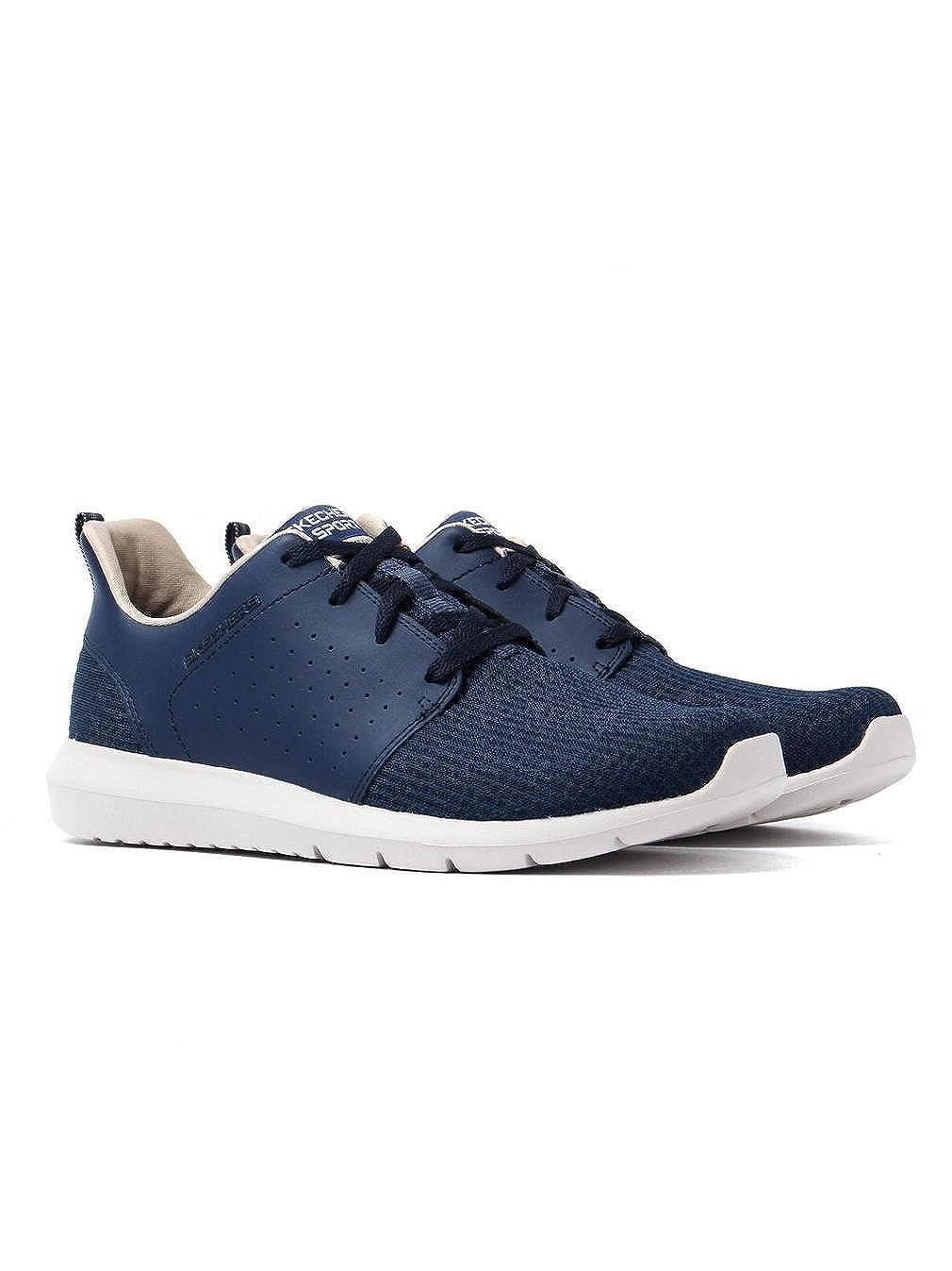 TALLA 39.5 EU. Skechers Foreflex, Zapatillas de Entrenamiento para Hombre