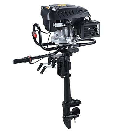 SEA DOG WATER SPORTS 4-Stroke 7HP Superior Engine Outboard Motor Inflatable  Fishing Boat Motor (4-Stroke 7HP)