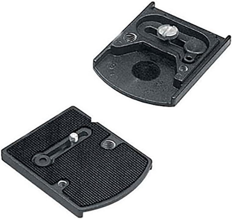 """Manfrotto 410pl placa adaptador rápido cambio placa 1//4/"""" /& 3//8/"""""""