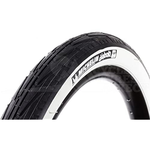 Michelin CITY J - Cubierta para bicicleta de paseo, 37-451 (20X1 3