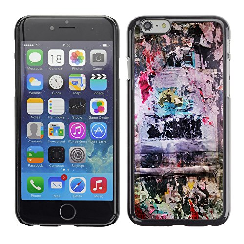 Premio Sottile Slim Cassa Custodia Case Cover Shell // V00002327 Circulaires Grungy // Apple iPhone 6 6S 6G 4.7""