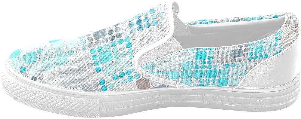 Custom Unusual Slip-on Canvas Shoes TechTile Jera Nour Unusual Slipon Canvas Shoes for Men