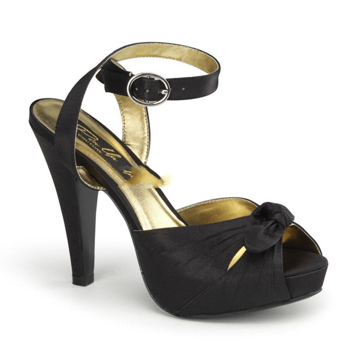 Pinup Couture Damen Bettie-04 Offene Sandalen  Mehrfarbig