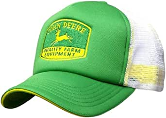 John Deere Mens Quality Equipment Foam Trucker, : Amazon.es: Ropa ...