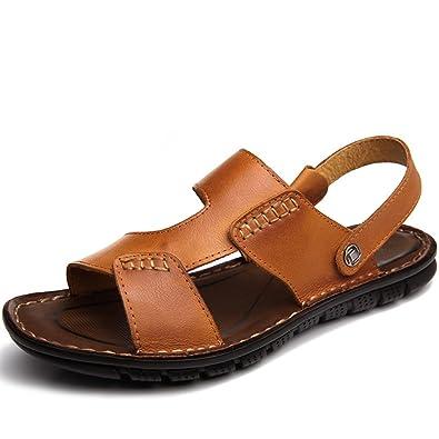été Sandales d'homme/Chaussures casual dérapage/sandales/Pantoufles  respirants-C Longueur du pied=24.3CM(9.6Inch): Amazon.fr: Chaussures et Sacs