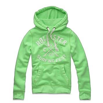 New para hombre Hollister luz verde sudadera con capucha tamaño XL X Large: Amazon.es: Jardín