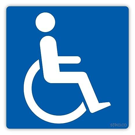 Adesivo Per Auto Con Logo Per Disabili Cartello In Vinile