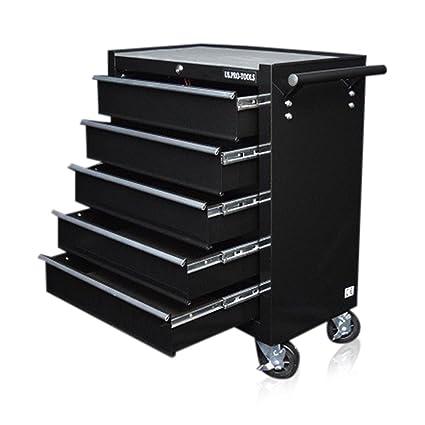 Gabinete para herramientas, de Us Pro Tools, caja para herramientas con ruedas color negro