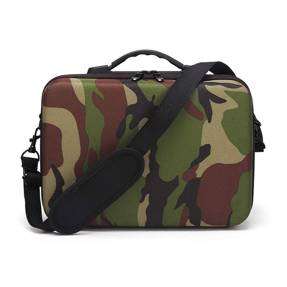Camouflage Bag for DJI Mavic 2 Series Outdoor Waterproof Shoulder Handheld Carry Storage Case Bag for DJI Mavic 2 Pro/Zoom Drone