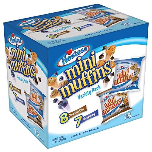 - Hostess Mini Muffins, Variety Pack (15 Ct.) - OSM