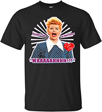I Love Lucy Waaah Ultra Cotton T-Shirt Black | Amazon.com