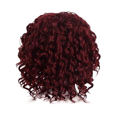 Cebbay Moda Rihanna peluca pelucas de pelo lleno lleno del casquillo ...