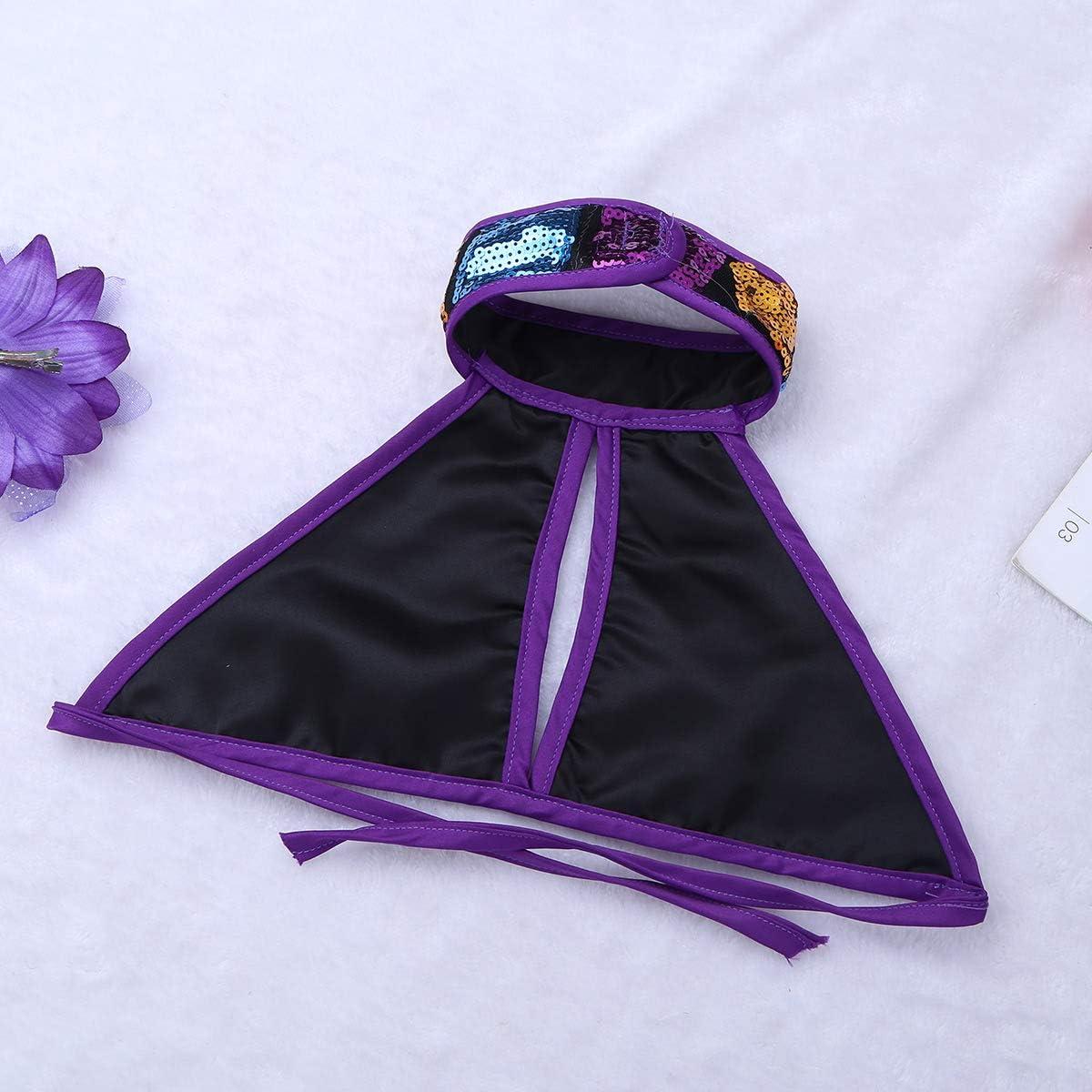 Agoky Robe de Danse Robe de Ballet Latine Salsa Jazz Performance B/éb/é Enfant Fille Costume de Danse Robe Soir/ée Cocktail Paillettes Brillant Bodysuit Dancewear 1-14 Ans
