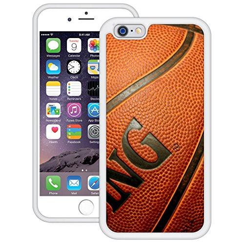 Korbball   Handgefertigt   iPhone 6 6s (4,7')   Weiß TPU Hülle