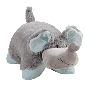 Pillow Pets My My Nutty Elephant - Large, Grey,; 18' Stuffed Animal Plush Toy