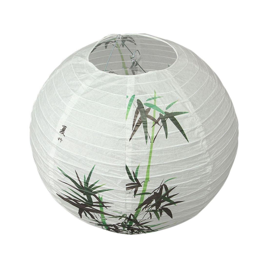 TOOGOO(R) 40cm Lamp Shade Paper Lantern Oriental Style Light Decoration Chinese Pattern:Bamboo