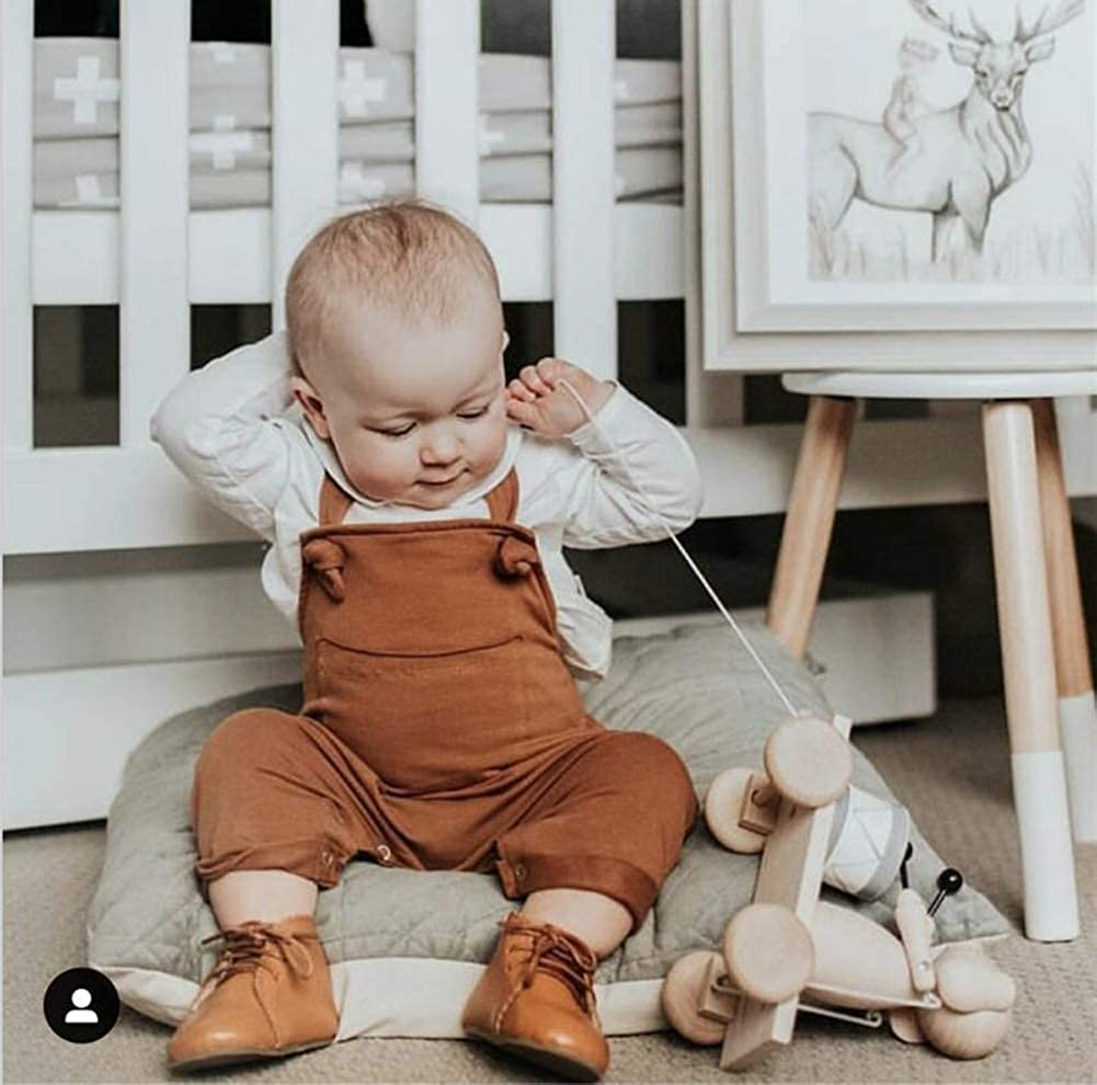 Infant Toddler Suspenders Trousers Dungarees Onesies Jumpsuit Carolilly-baby Boys Girls Bib Pants Ovralls with Knot