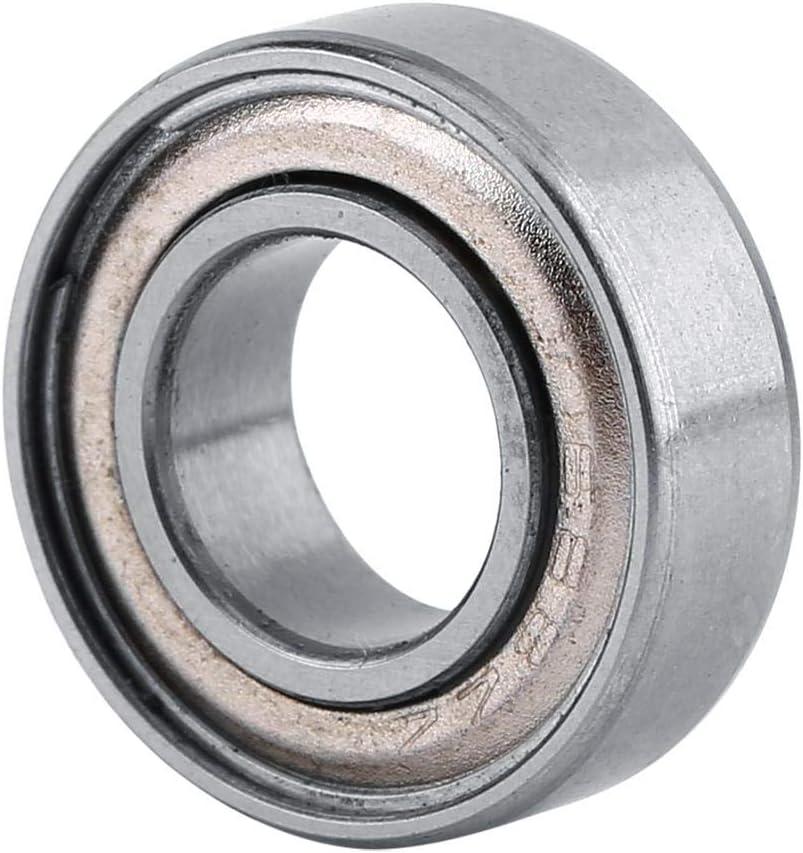 adapt/é aux projets darbre ou de tige de 8 mm tels que l/équipement m/écanique Roulement /à billes miniature 10PCS roulement en acier les instruments /électriques roulement /à double blindage