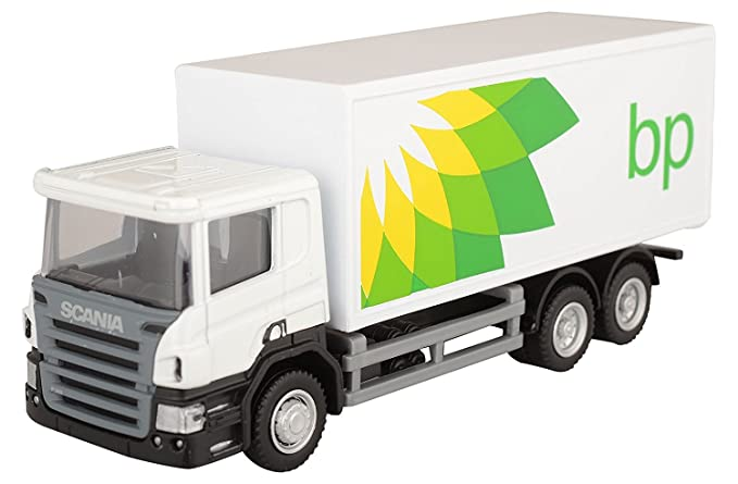 Rmz City Car 1:64 Scania - BP Container Truck, White