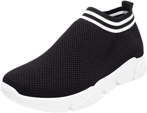 Gtagain Zapatillas Deportivas Mujer Deportivo - Calcetín Punto Malla Al Aire Libre Atlético Casual Caminar Correr Confort Gimnasio Zapatos: Amazon.es: Zapatos y complementos