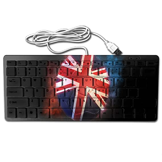 Amazon Football Of The British Flag Usb Wired Universal
