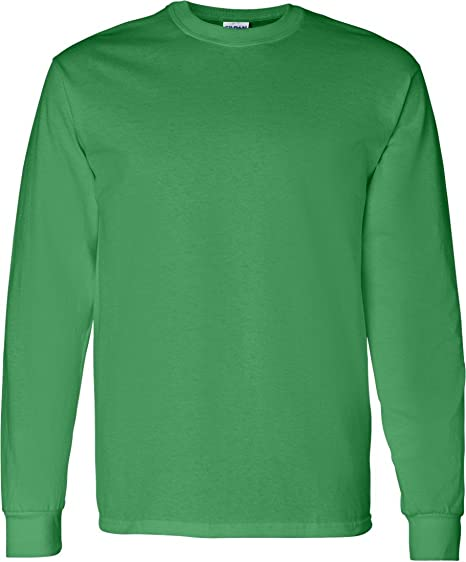 287f9b5c Image Unavailable. Image not available for. Color: Gildan Mens 5.3 oz. Heavy  Cotton Long-Sleeve T-Shirt ...