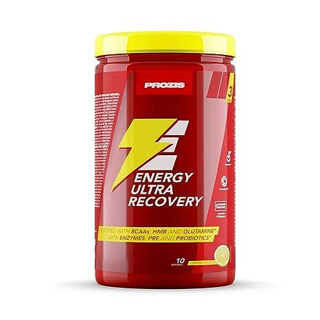 Prozis Energy Ultra Recovery 800 g Limón Proteína De Suero De Leche ...
