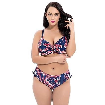 Tallas Arriba Grandes Hacia Bikini Traje De Mujer Acolchado Empujar qUpGzVjLSM