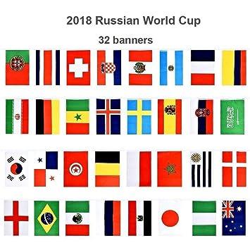 D&&R Banderines de la Copa del Mundo de Fútbol, banderas para la Copa Mundial de