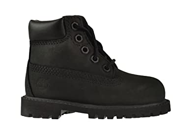 03cd465d3c Amazon.com | Timberland 6 Inch Premium Baby Toddlers Boots Black ...