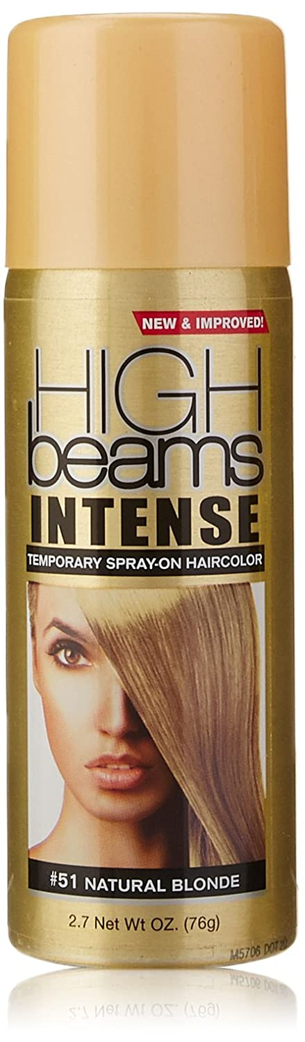 Amazon high beams intense temporary spray on hair color amazon high beams intense temporary spray on hair color natural blonde 27 ounce hair coloring products beauty pmusecretfo Images